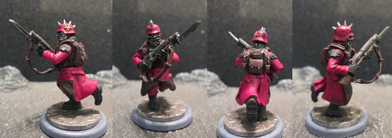 Blood Pact, Chaos, Guard, Maxmini, Shotgun, Victoria Miniatures, Warhammer 40,000