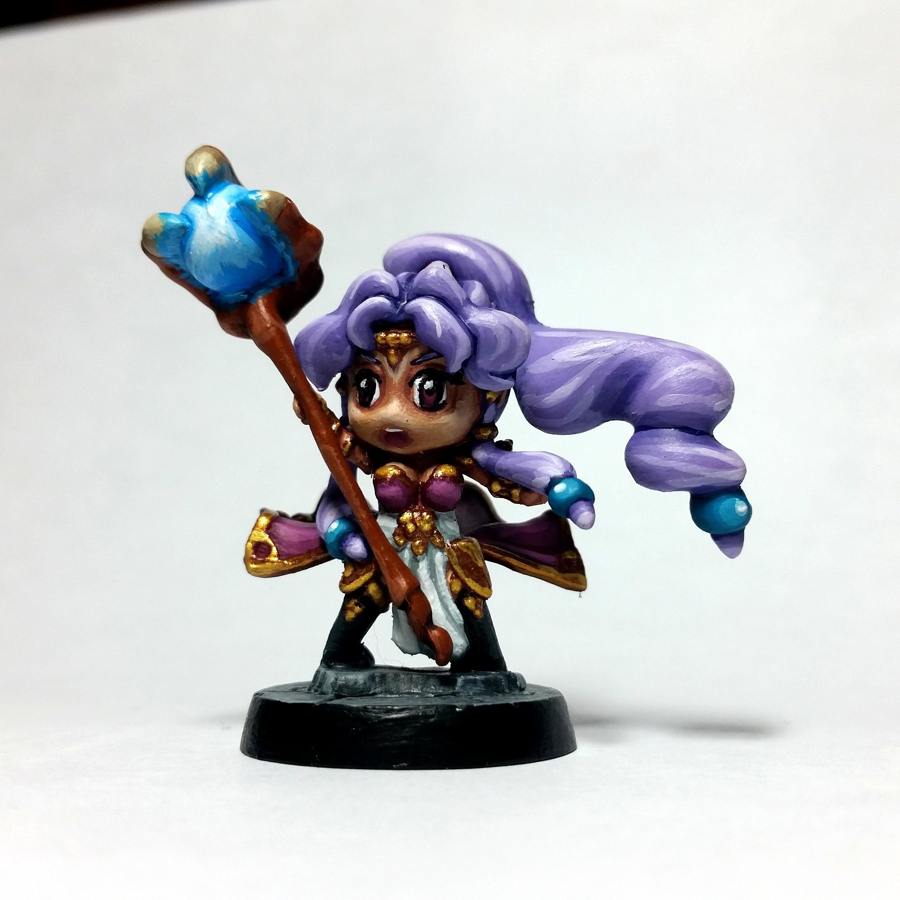 Hexcast Sorceress
