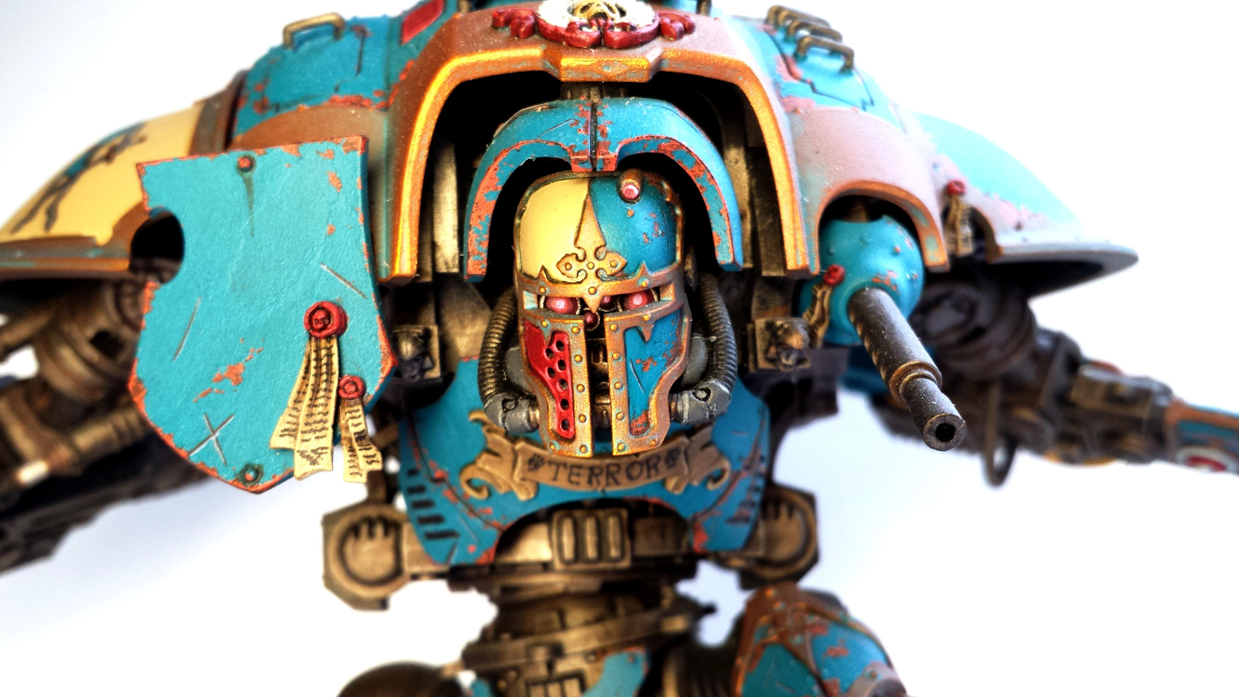 Conversion, Face, Imperial Knight, Warhammer 40,000