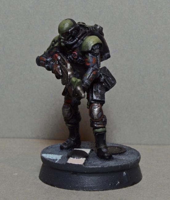 Haqqislam, Infinity, Kaplan Tactical Services, Kts, Mercenary, Qapu Khalqi