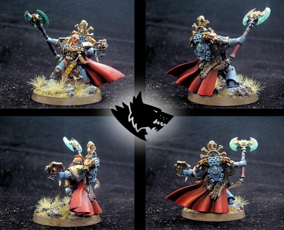 Chapter Master, Headquarters, Limited Edition, Sanctus Reach, Space Wolves, Stormclaw