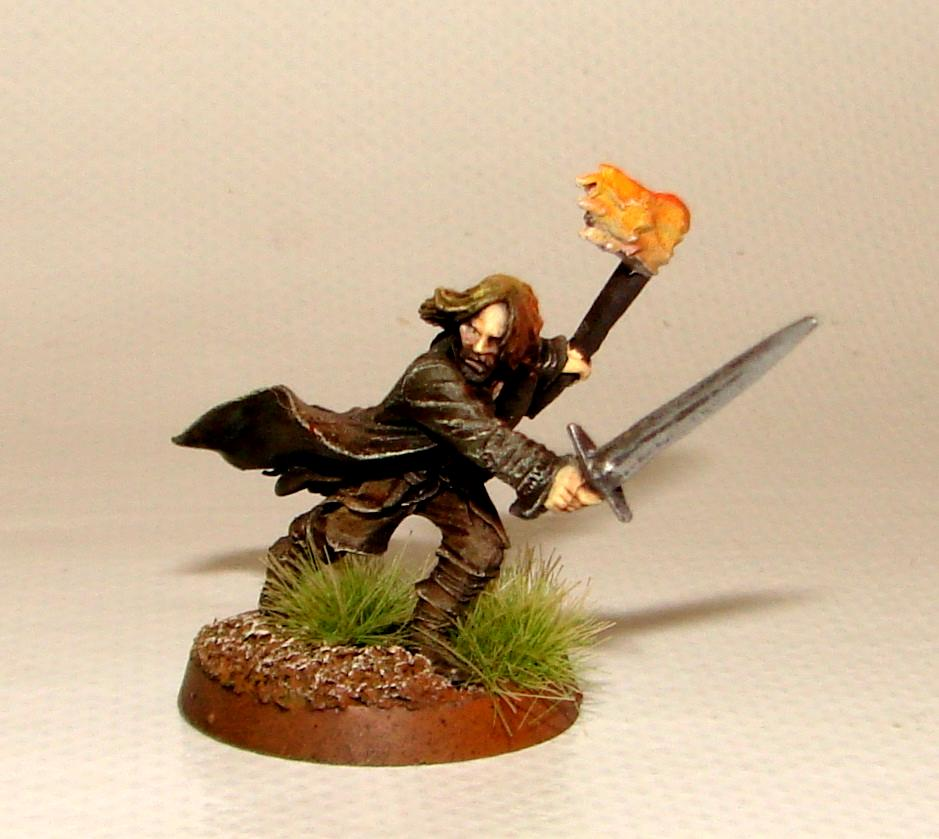 Aragorn, Lord Of The Rings, Object Source Lighting, Warhammer Fantasy, Weathertop