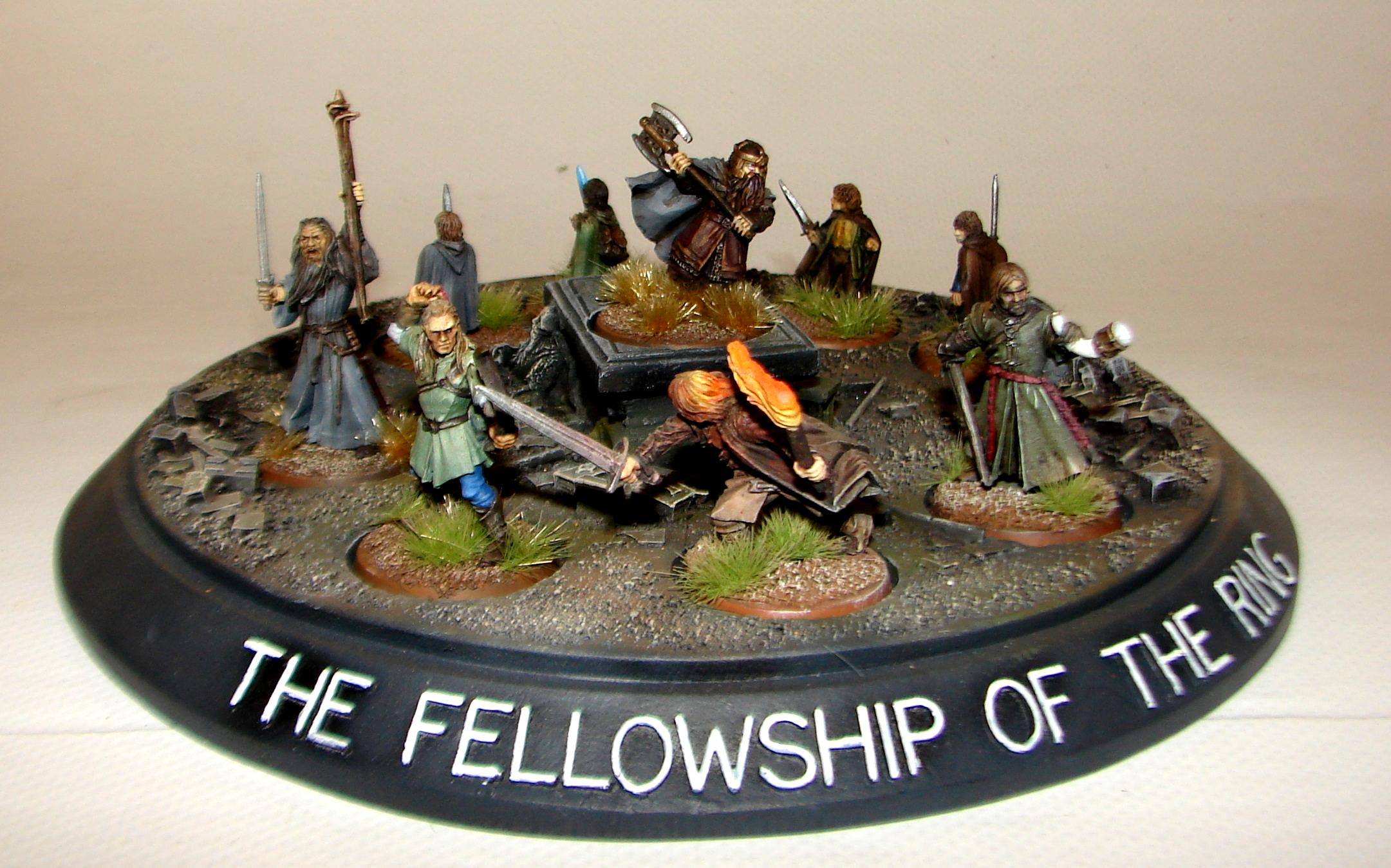 Diorama, Fellowship, Hobbit, Lord Of The Rings