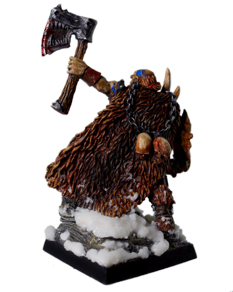 Axe, Barbarian, Northern Alliance, Shieldwolf, Snow