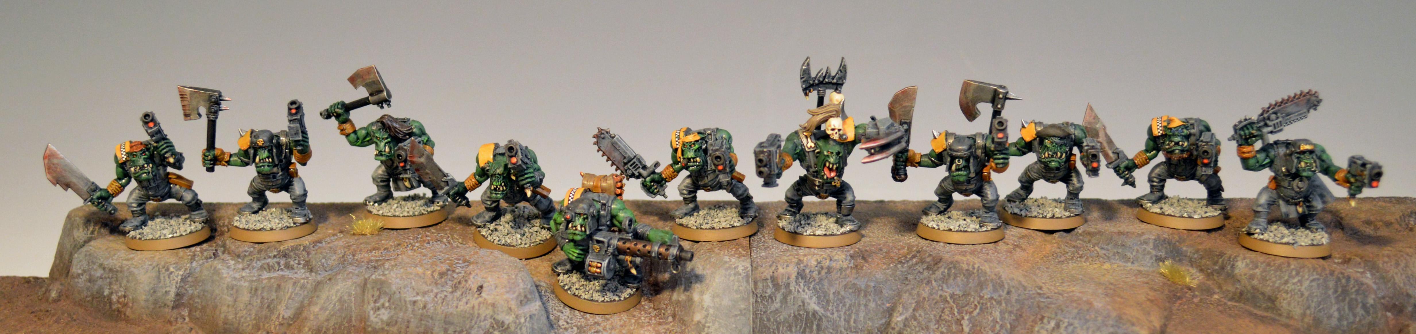 Boy, Orks, Slugga Boyz 1