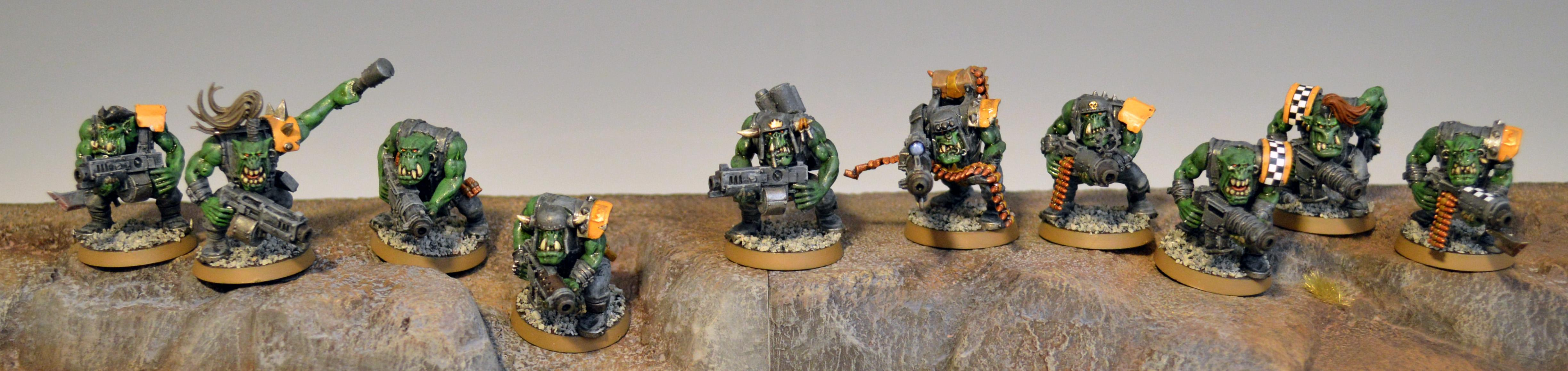 Boy, Orks, Shoota Boyz 4