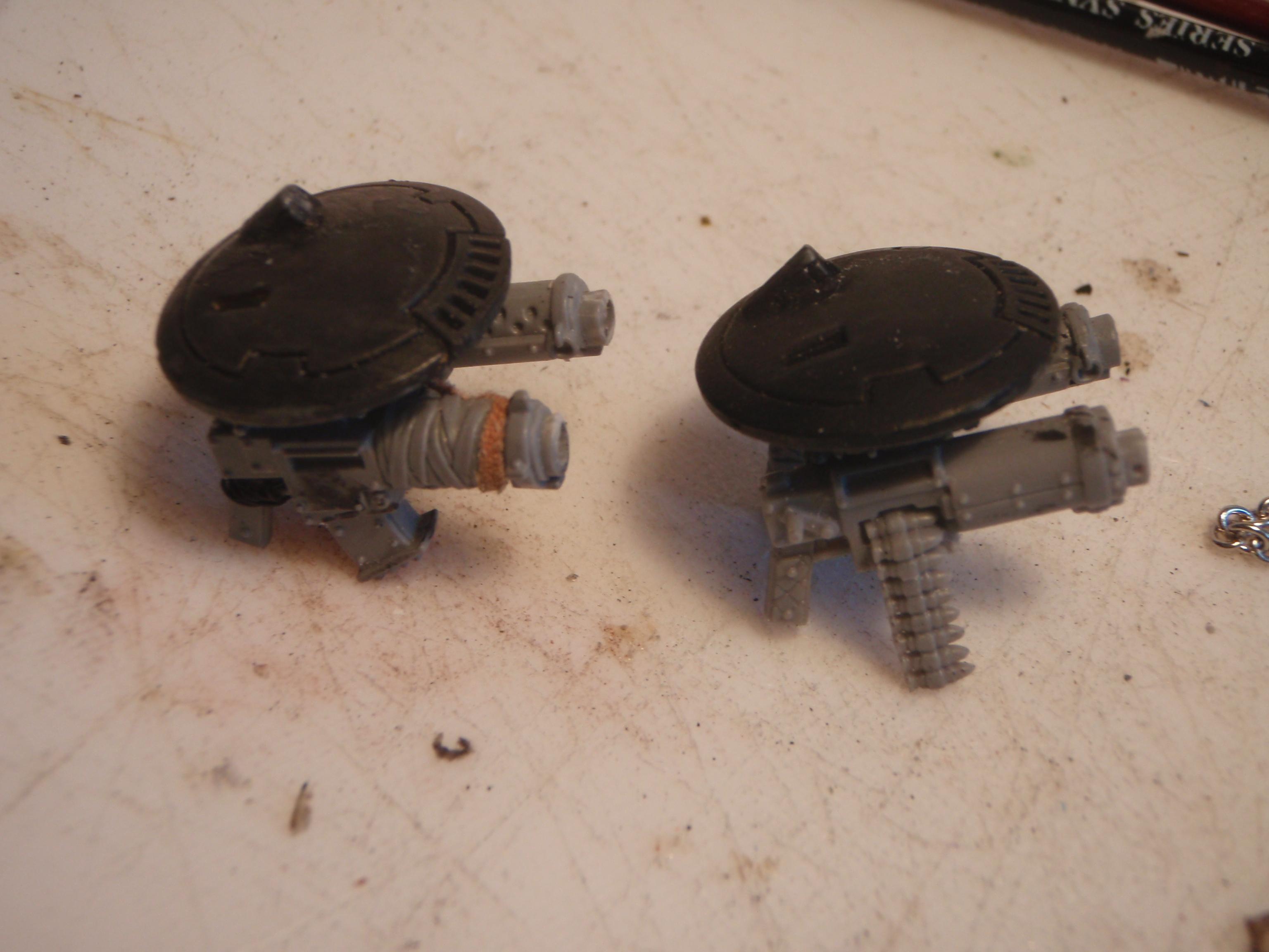 Ork Tau Flyer guns