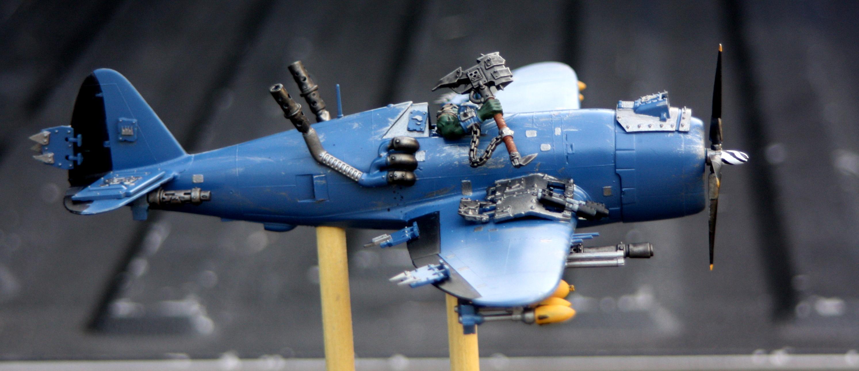 Boss, Dakka Dakka, Fly, Flyer, Jet, Orks, Waaagh!