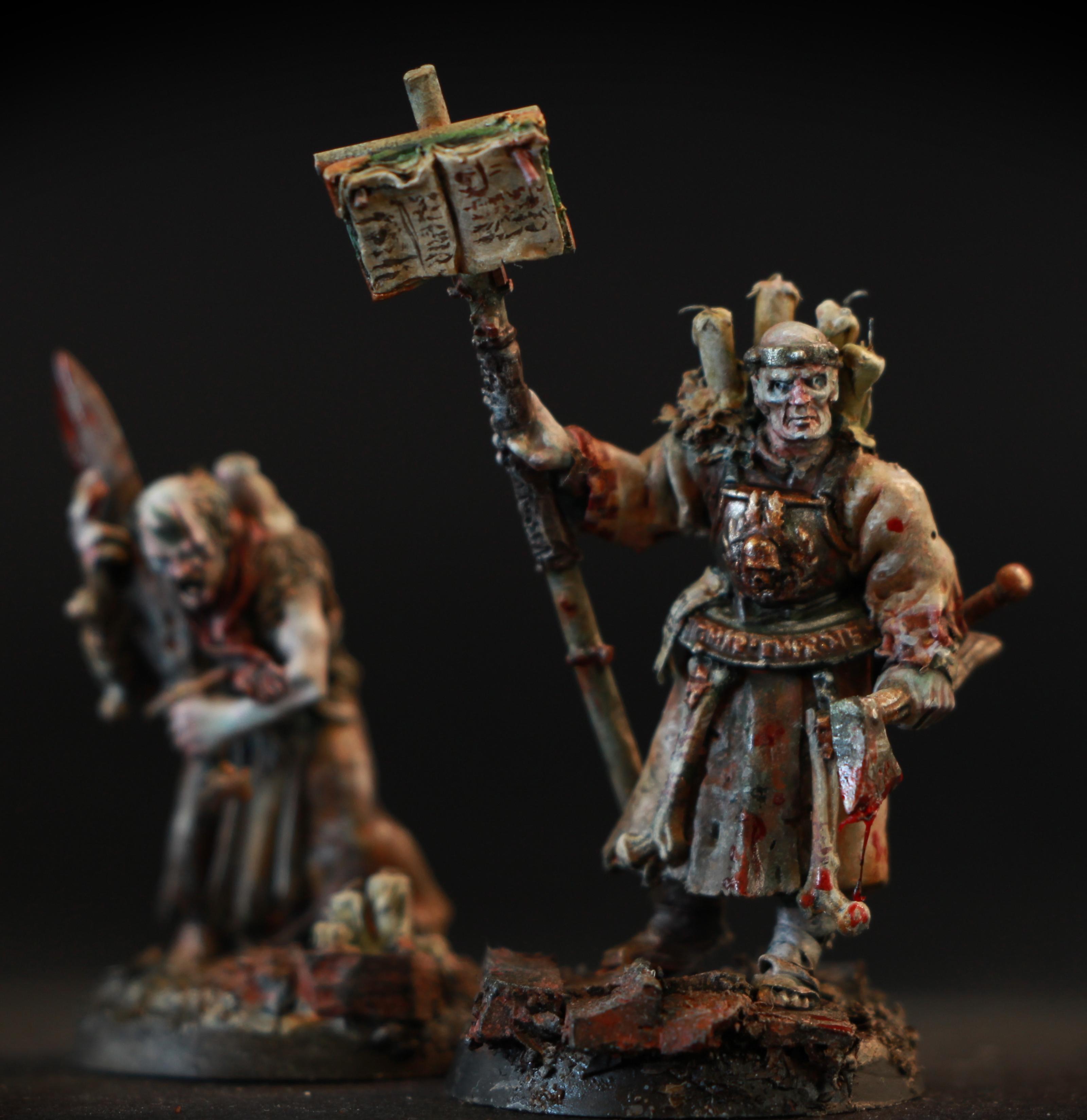 Monk, Warrior Priest