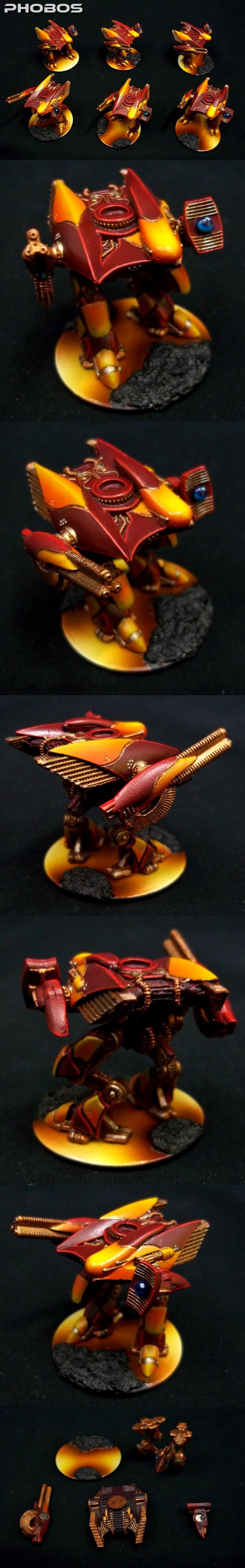 Dropzone Commander, Dzc, Fire, Lava, Phobos, Phr, Post Human Republic, Walker
