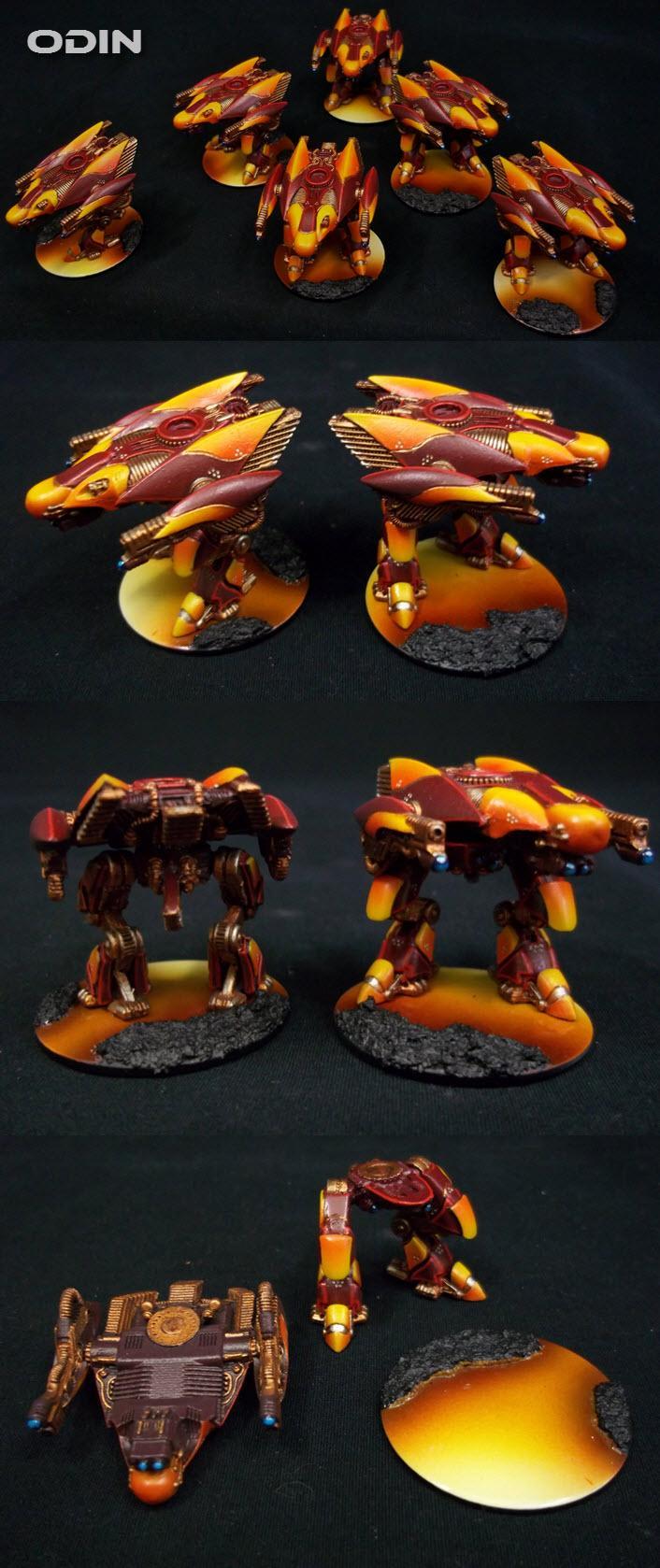 Dropzone Commander, Dzc, Fire, Lava, Odin, Phr, Post Human Republic, Walker