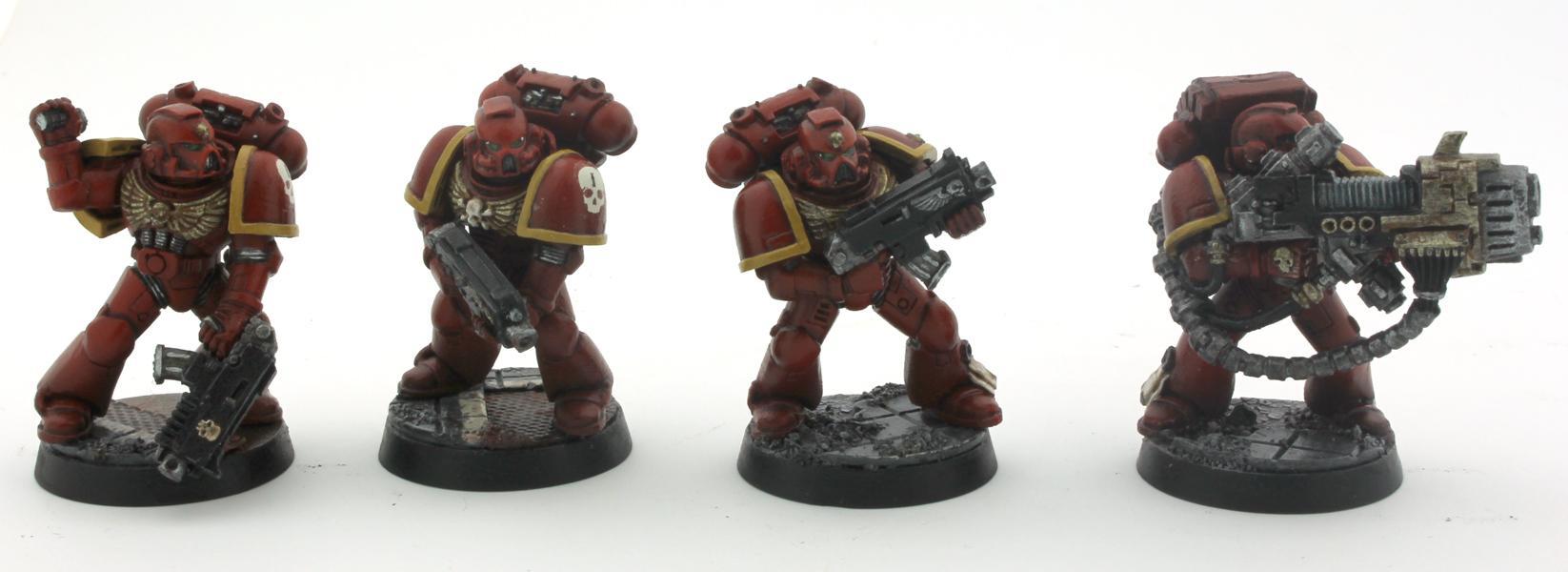 Devastator Squad Space Marines
