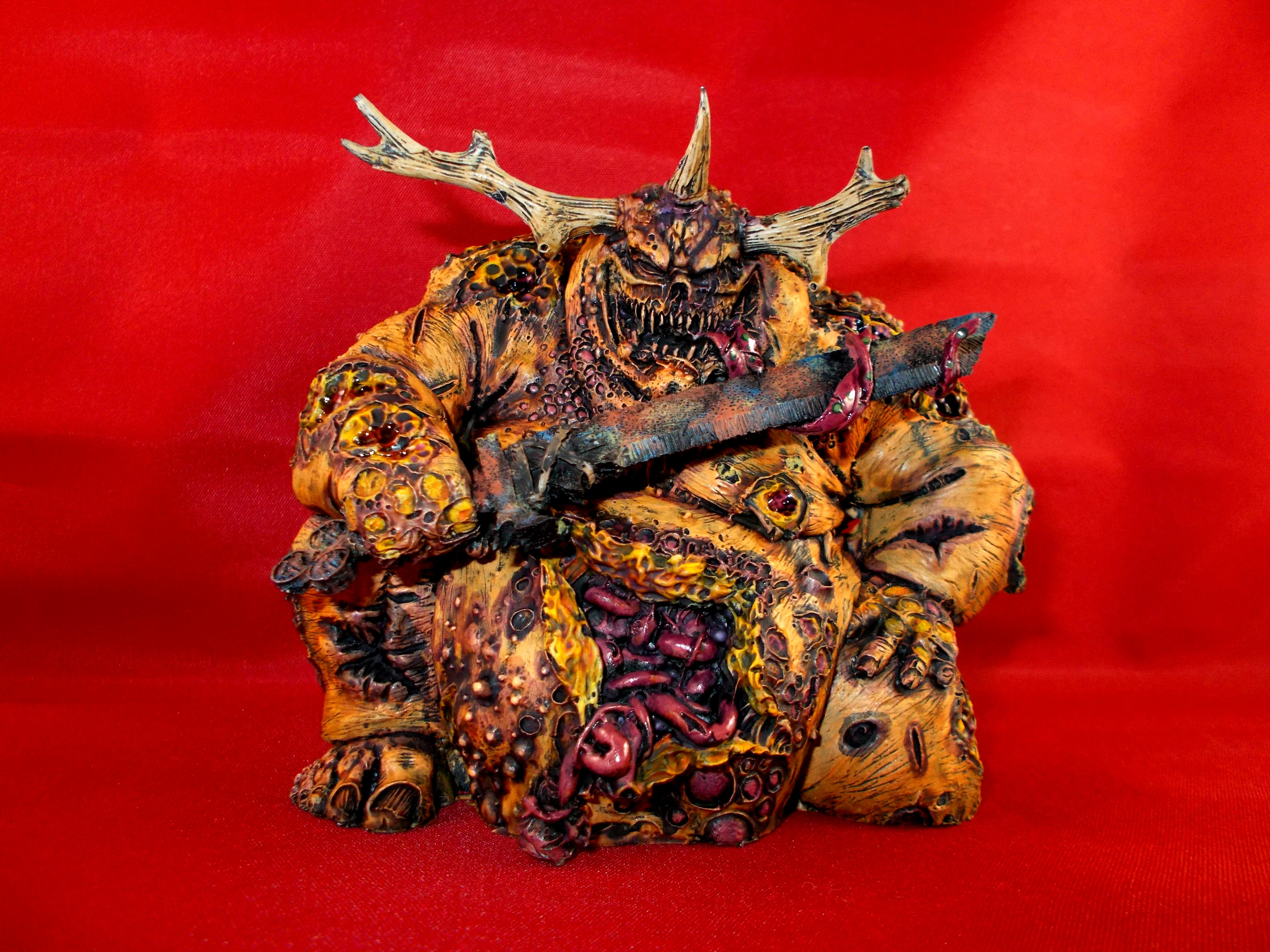 Chaos Daemons, Forge World, Great Unclean One, Greater Daemon, Nurgle, Warhammer Fantasy