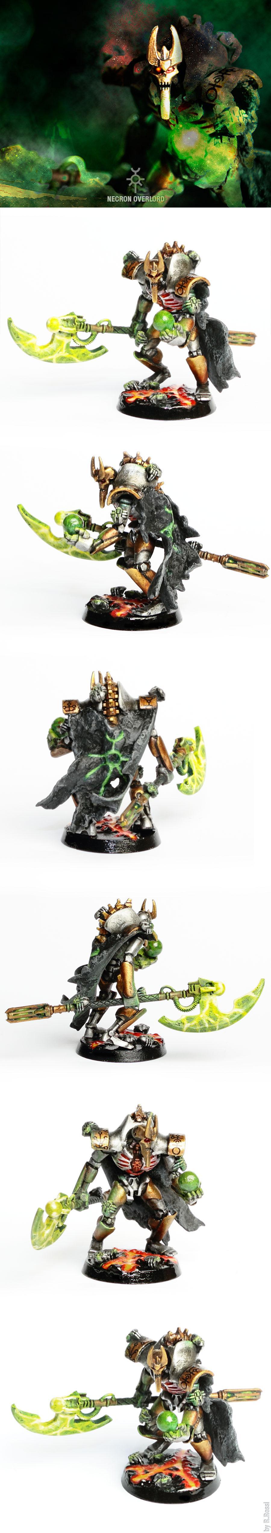 Conversion, Greenstuff, Mindshackle Scarabs, Necrons, Overlord, Phylactery, Resurrection Orb, Sempiternal Waves, Warhammer 40,000, Warscythe