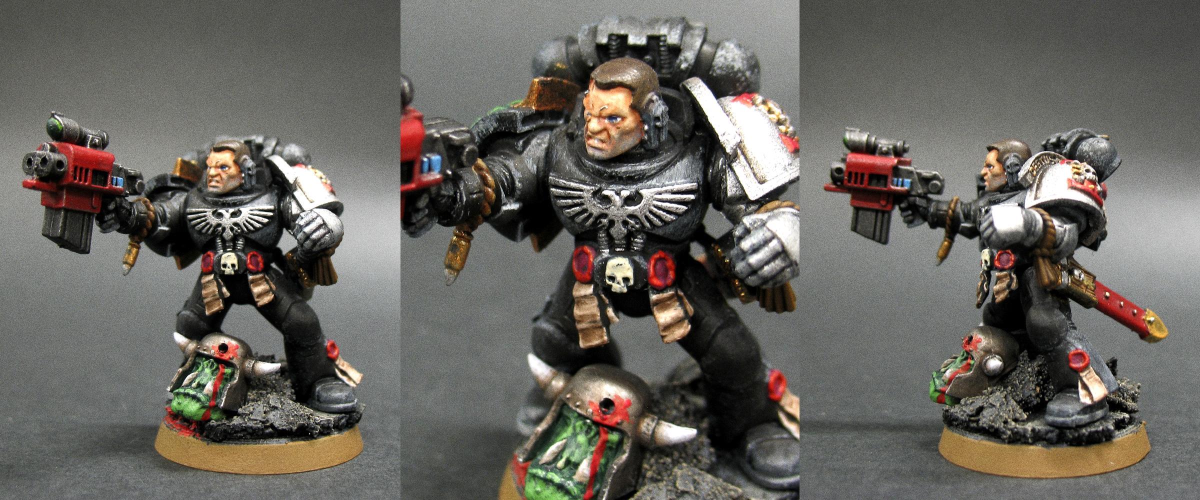 Blackshield, Captain Titus, Deathwatch, Killteam, Ork Abuse, Ultramarines
