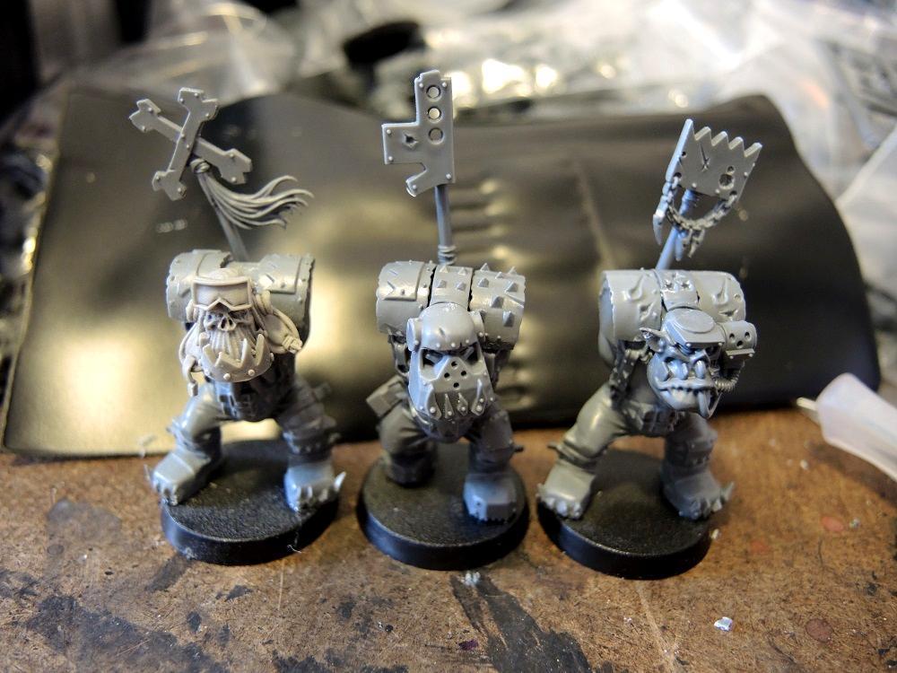 Badmoons, Conversion, Deathskulls, Nob, Orks, Waaazag, Work In Progress