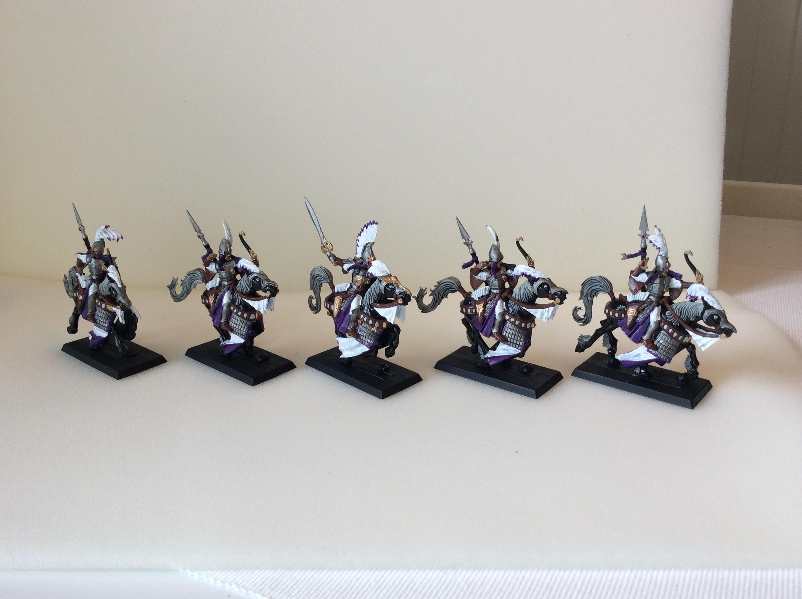 Ellyrian Reavers, First Project, High Elves, Island Of Blood, Purple
