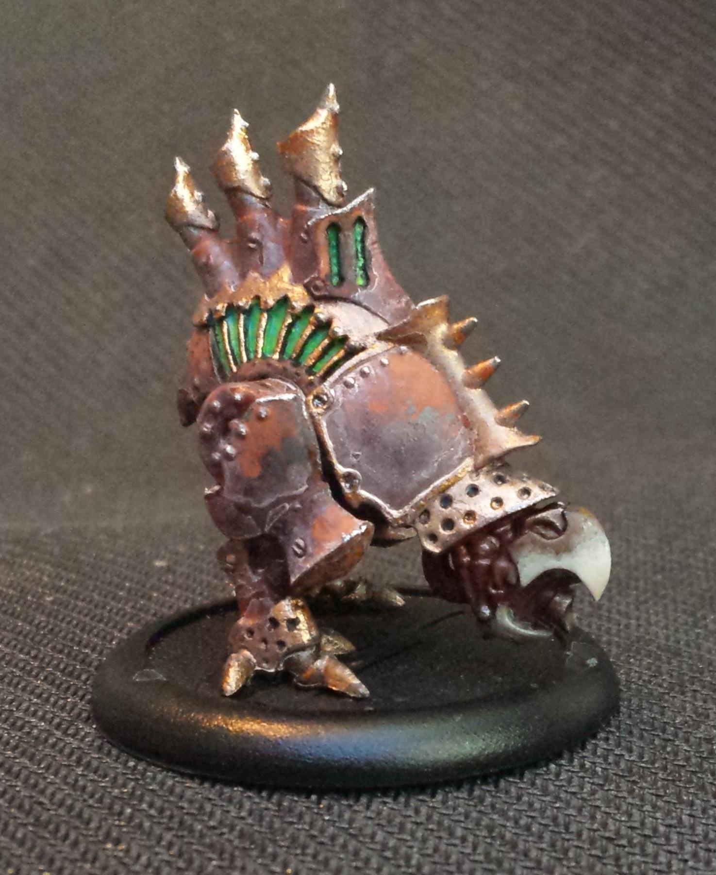 Cryx, Nightwretch, Pigments, Rust
