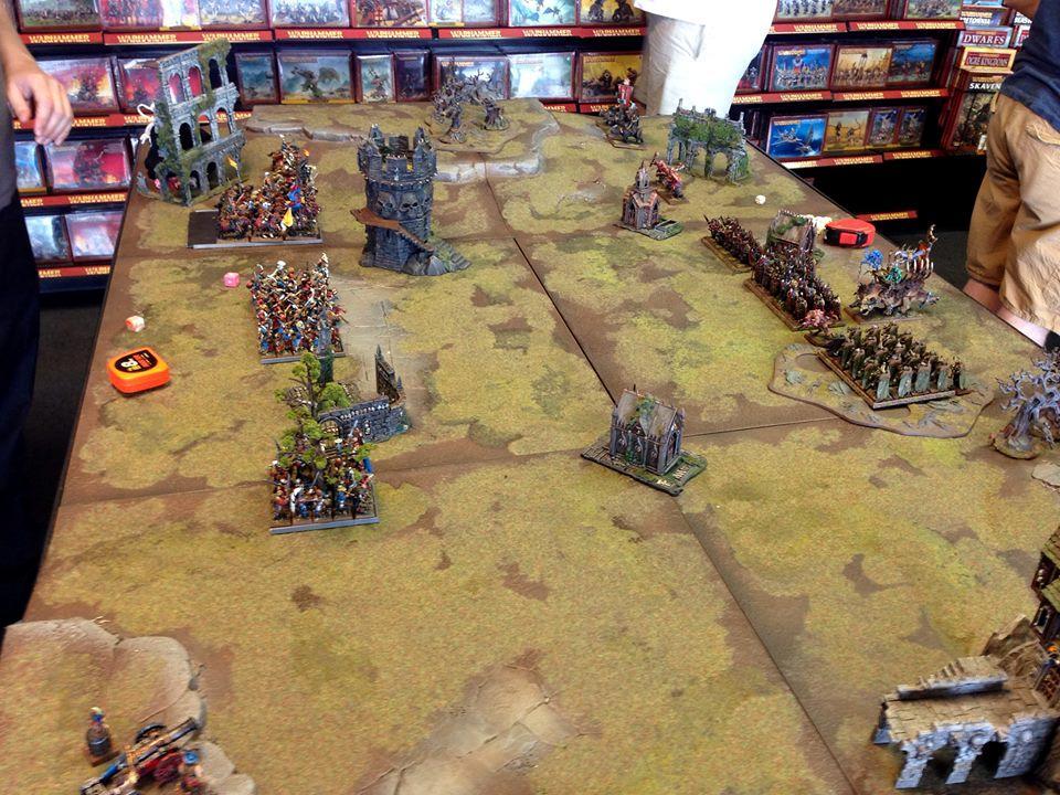 Altdorf, Battle At Gw 8/2/2014, Empire, Warhammer Fantasy