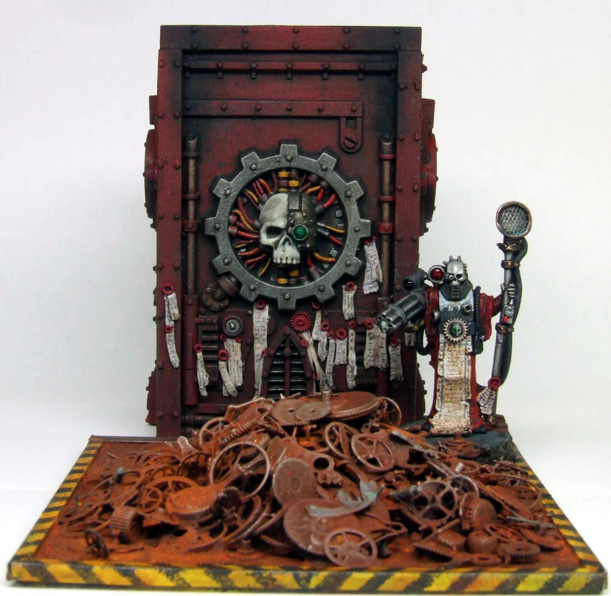 Adeptus Mechanicus, Diorama, Inq28, Inquisitor, Mechanicus, Shrine, Tech Priest