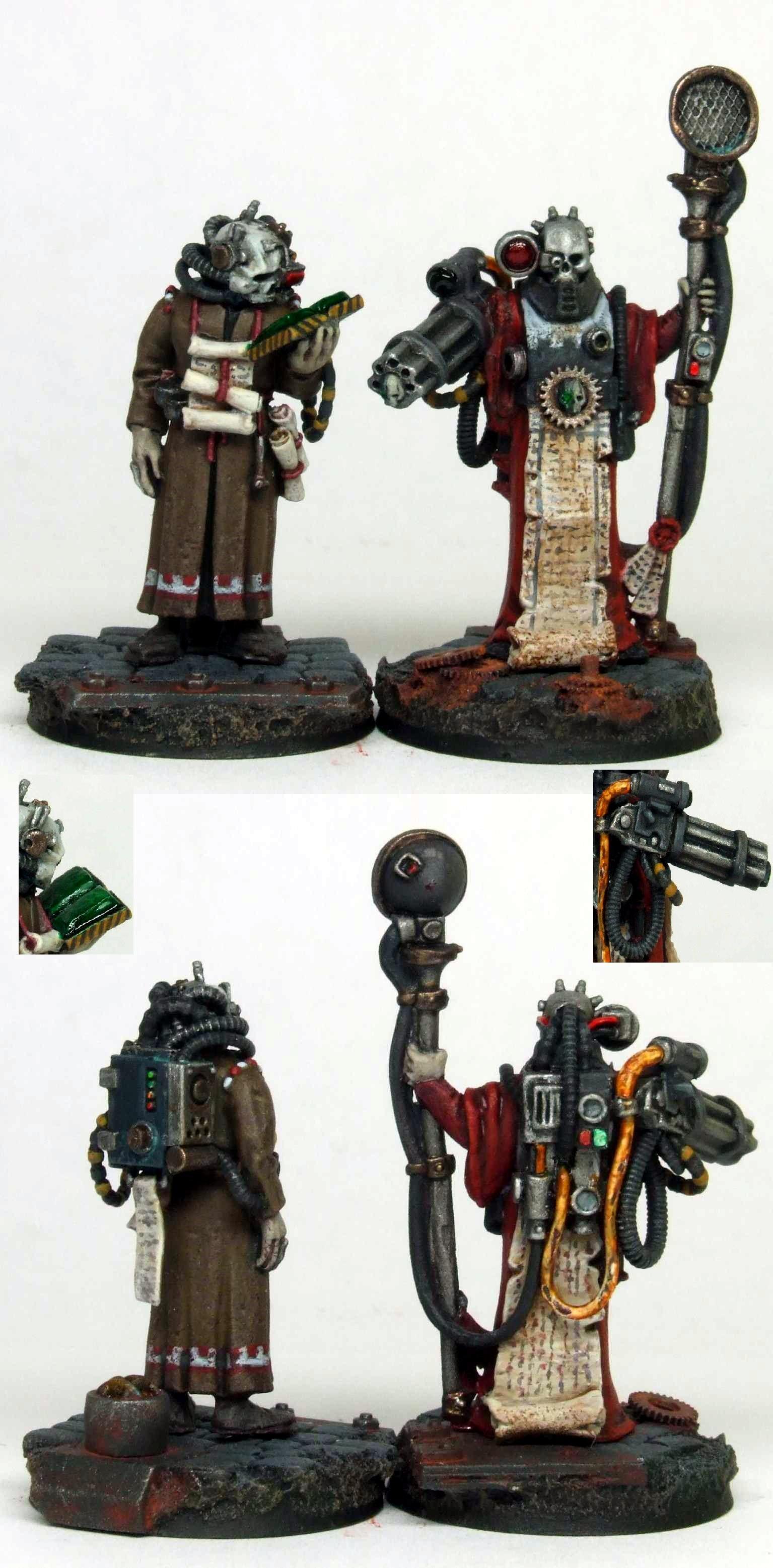 Adeptus Mechanicus, Inq28, Inquisitor, Mechanicus, Scribe, Shrine, Tech Priest