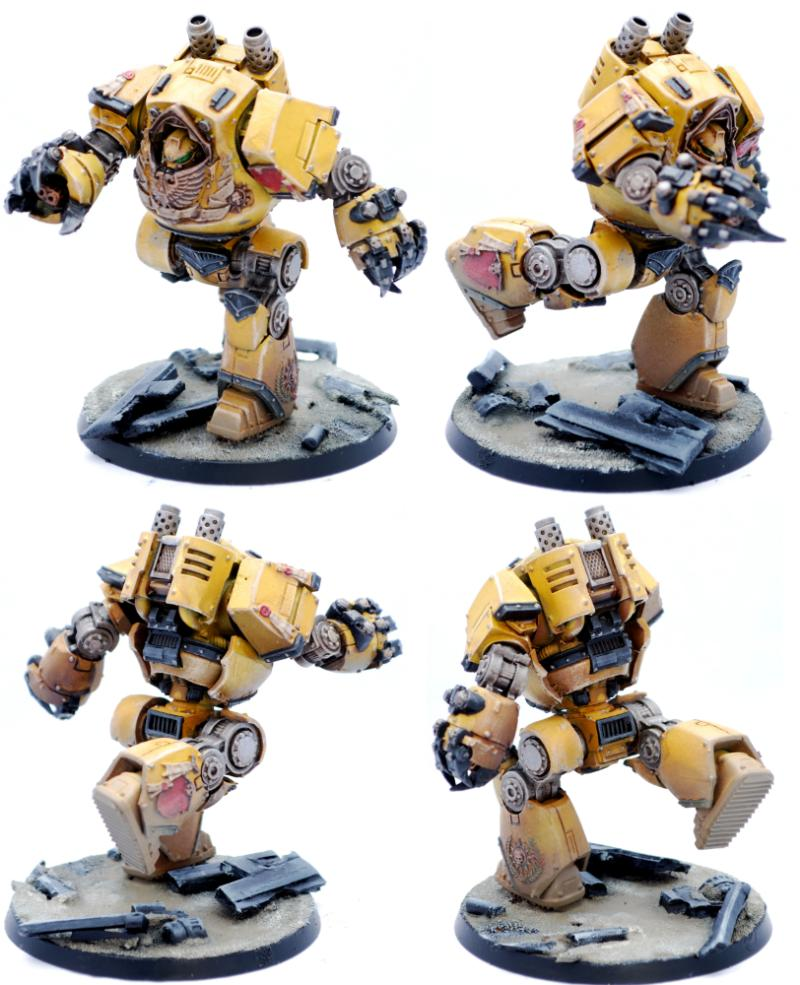 Contemptor dreadnought imperial fists plasma blaster for Combat portent 30 20