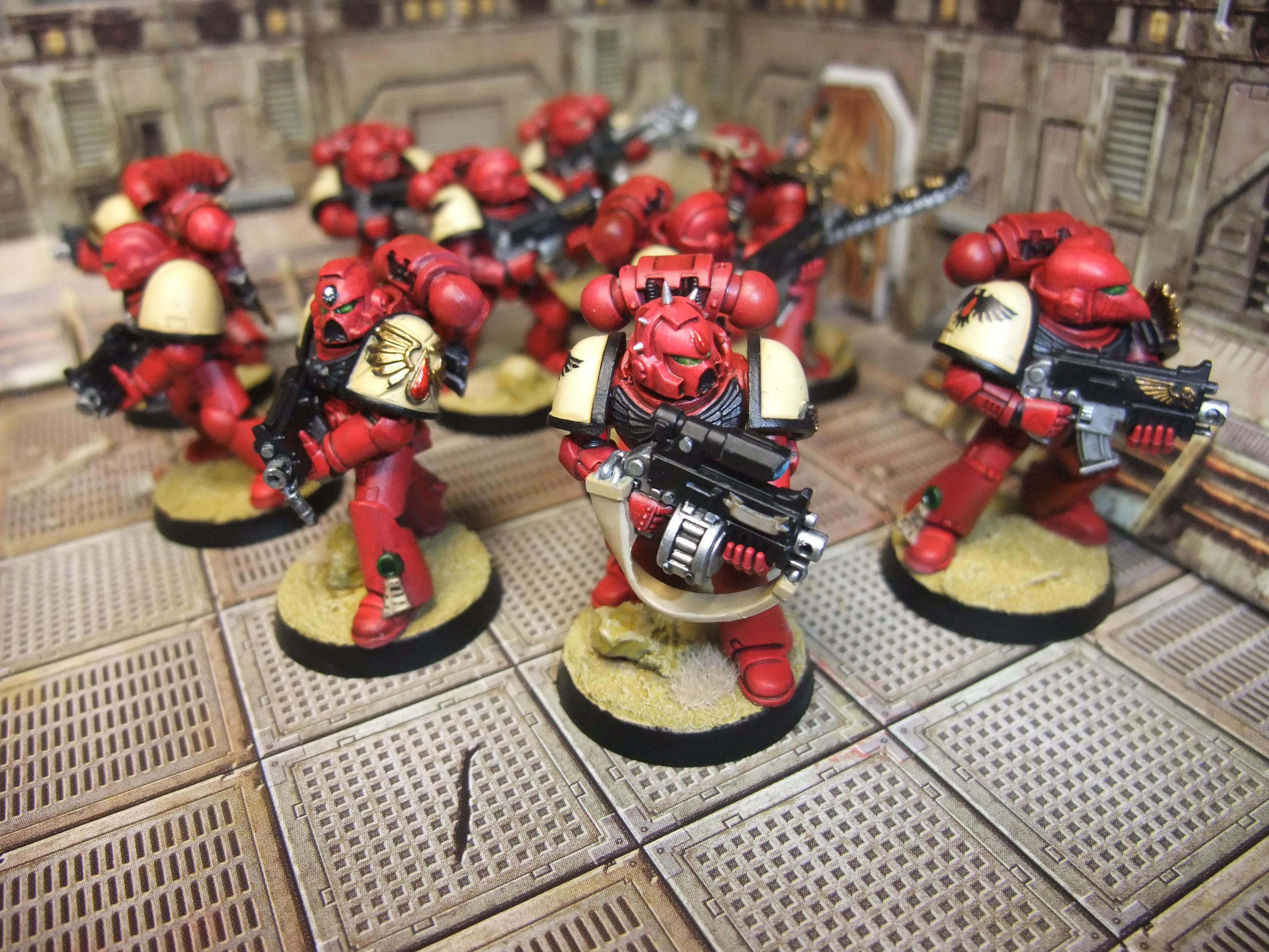 Blood Ravens, Space Marines, Tactical Squad, Warhammer 40,000