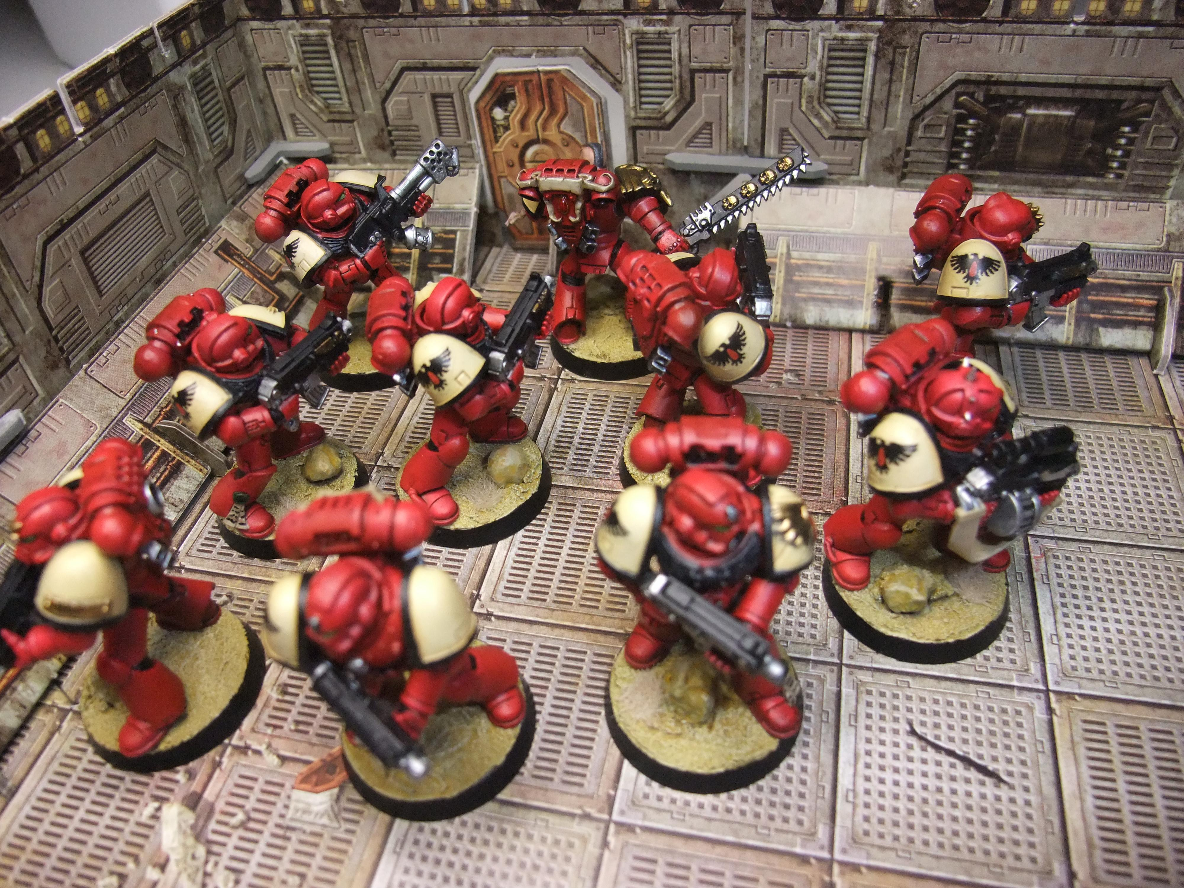 Blood Ravens, Space Marines, Tactical Squad
