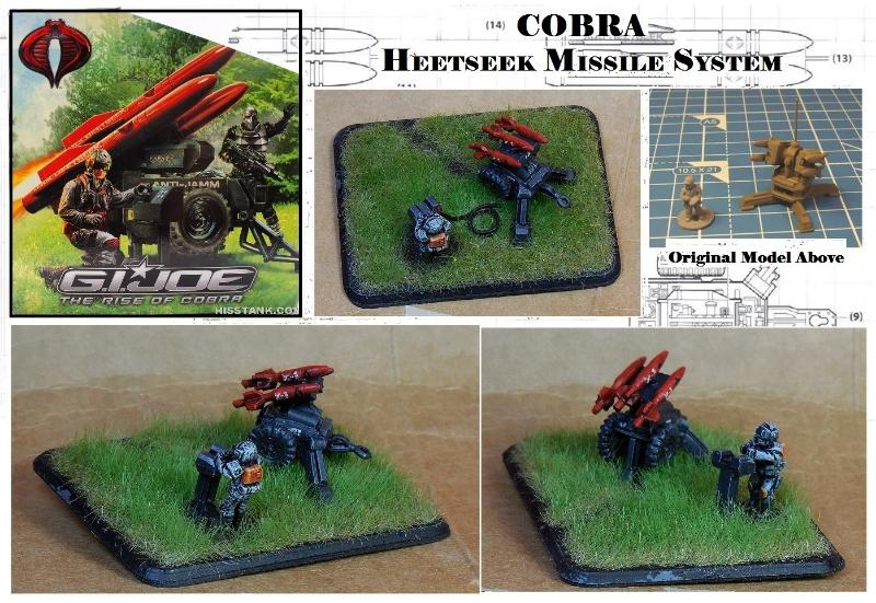 15mm, Cobra, Conversion, Flames Of War, Gi Joe, Missile, Rocket