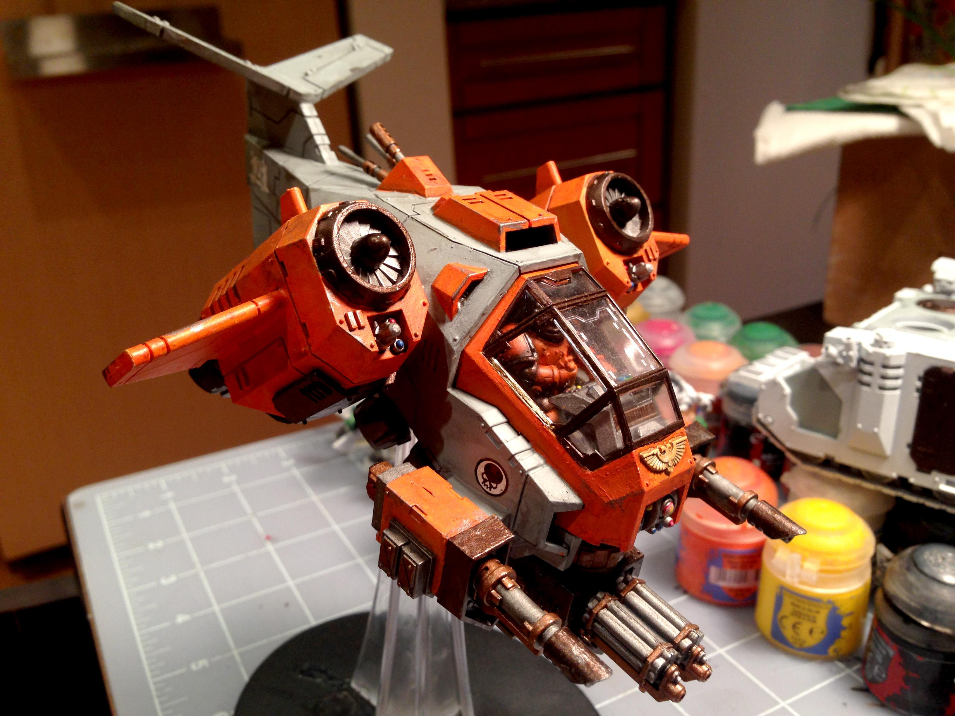 Flyer, Gun Ship, Space Marines, Storm, Storm Talon Gunship, Talon