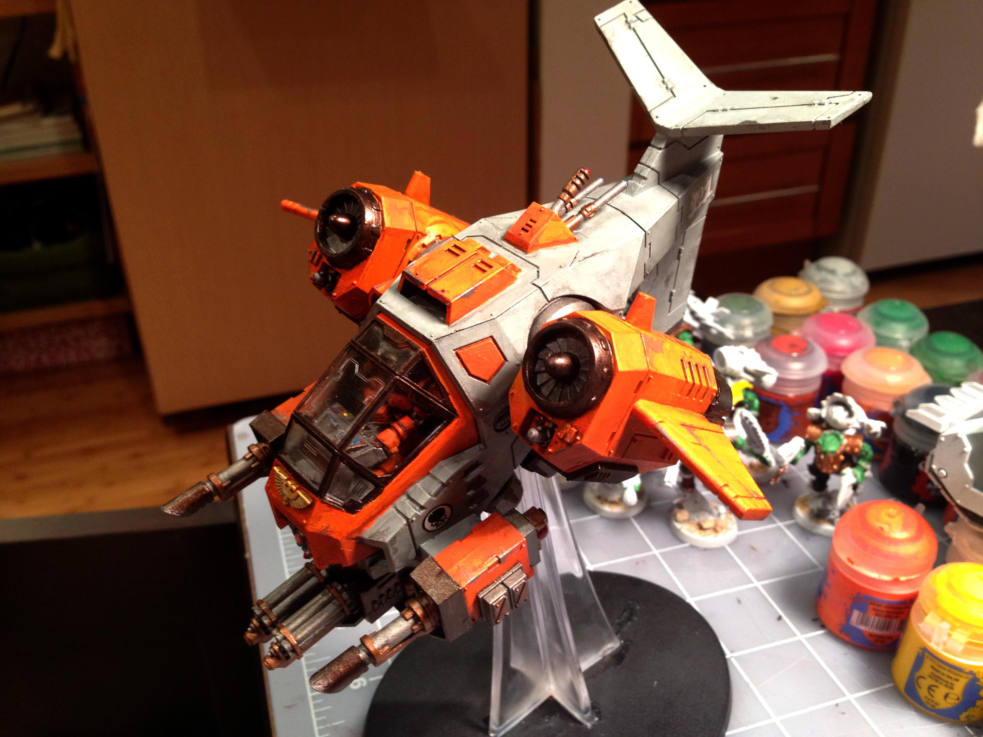 Flyer, Gun Ship, Space Marines, Storm, Storm Talon Gunship, Talon