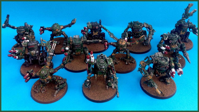 Canz, Deff, Dreadnought, Green, Rocketz