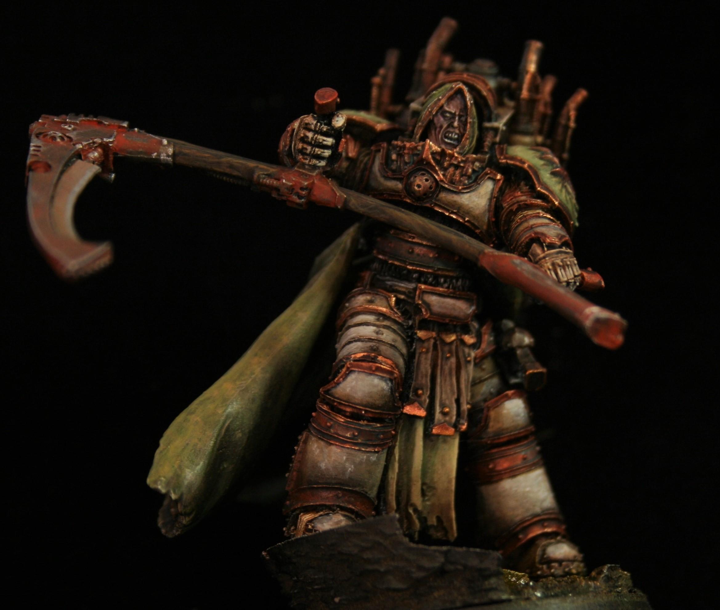 Death Guard, Mortarion, Primarch
