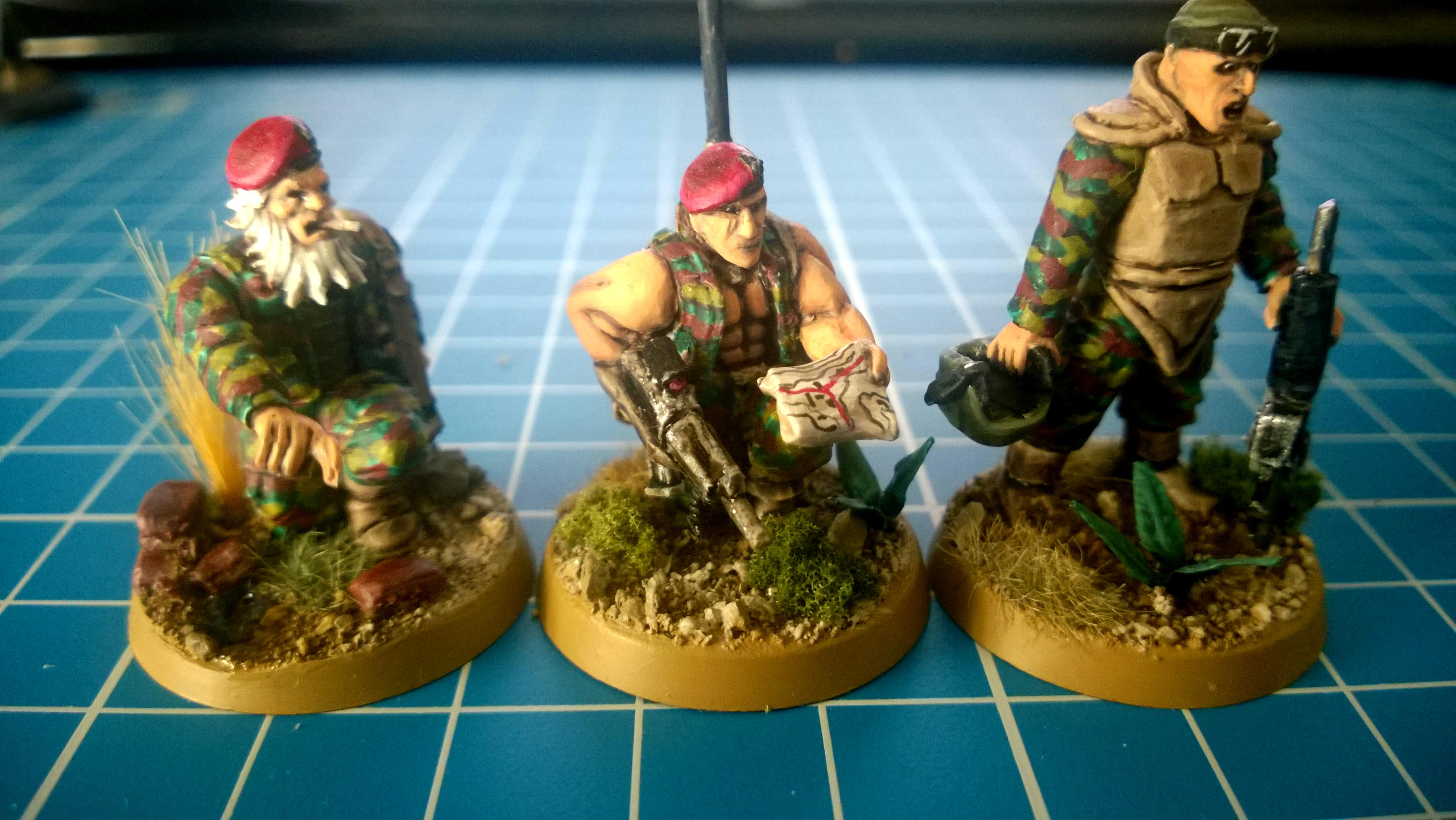 3rd, Command Squad Members, Conversion, Darkon, Guard, Imperial, Imperial Guard
