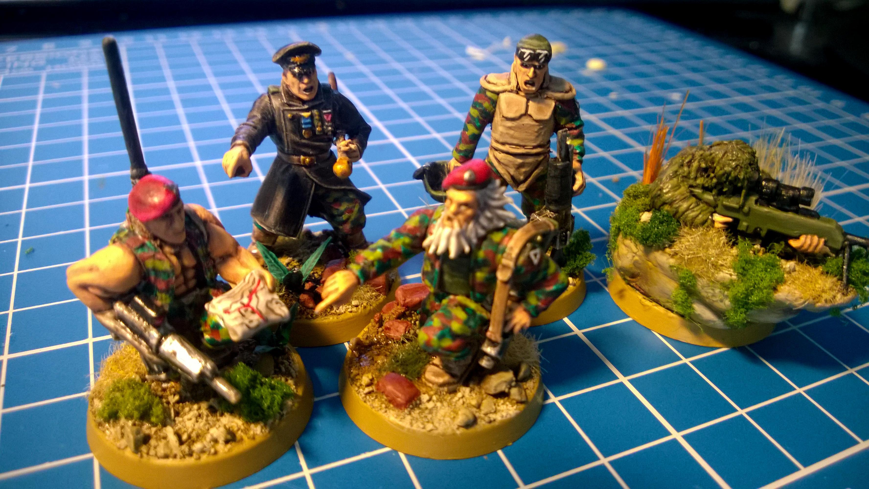 3rd, Command Squad, Conversion, Darkon, Guard, Imperial, Imperial Guard