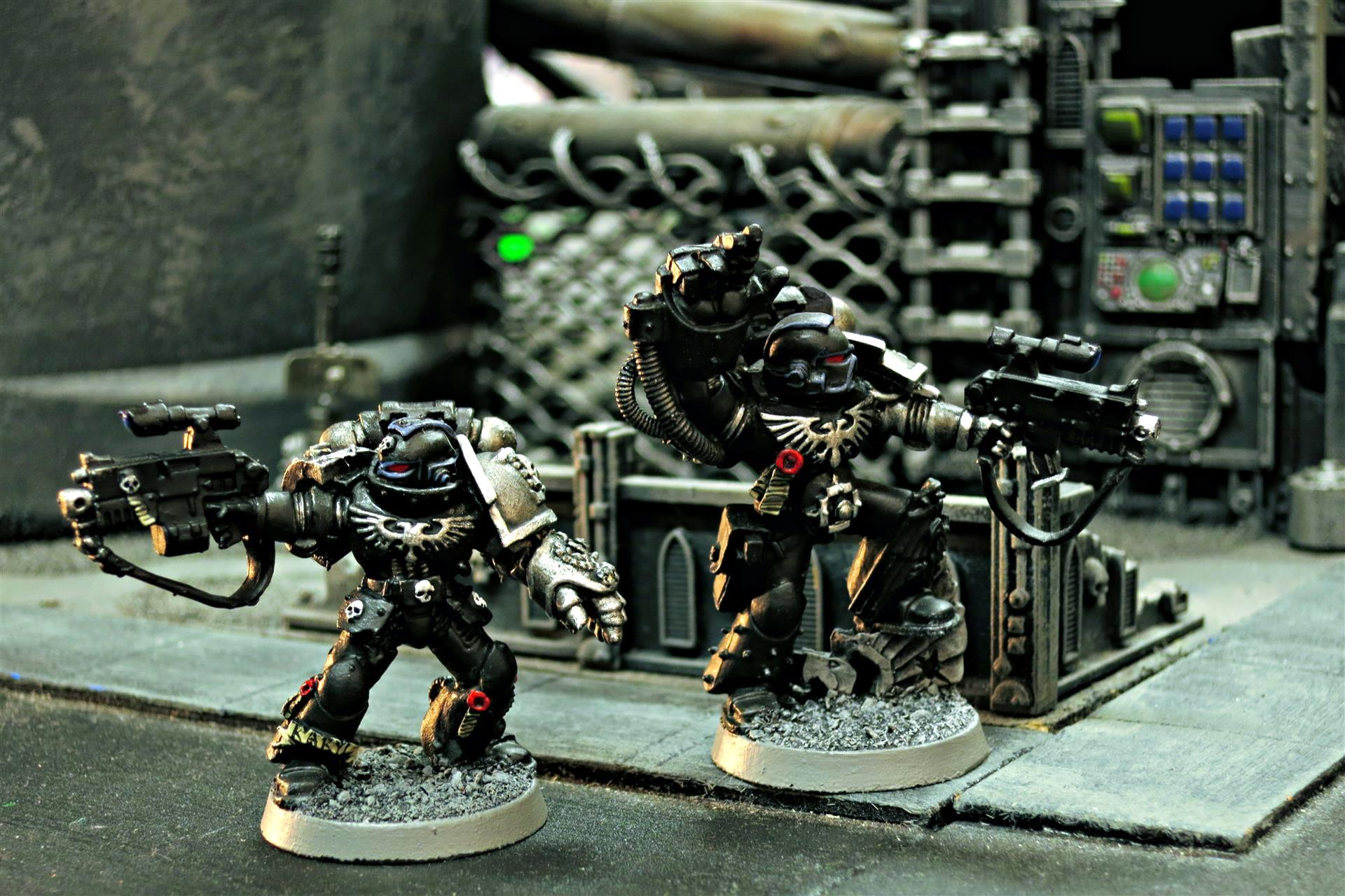 Aquila, Black Shield, Black Shields, Deathwatch, Deathwatch Blackshields, Deathwatch Kill Team, Inquisition, Ordos Xenos, Power Fist, Sgt, Space Marines