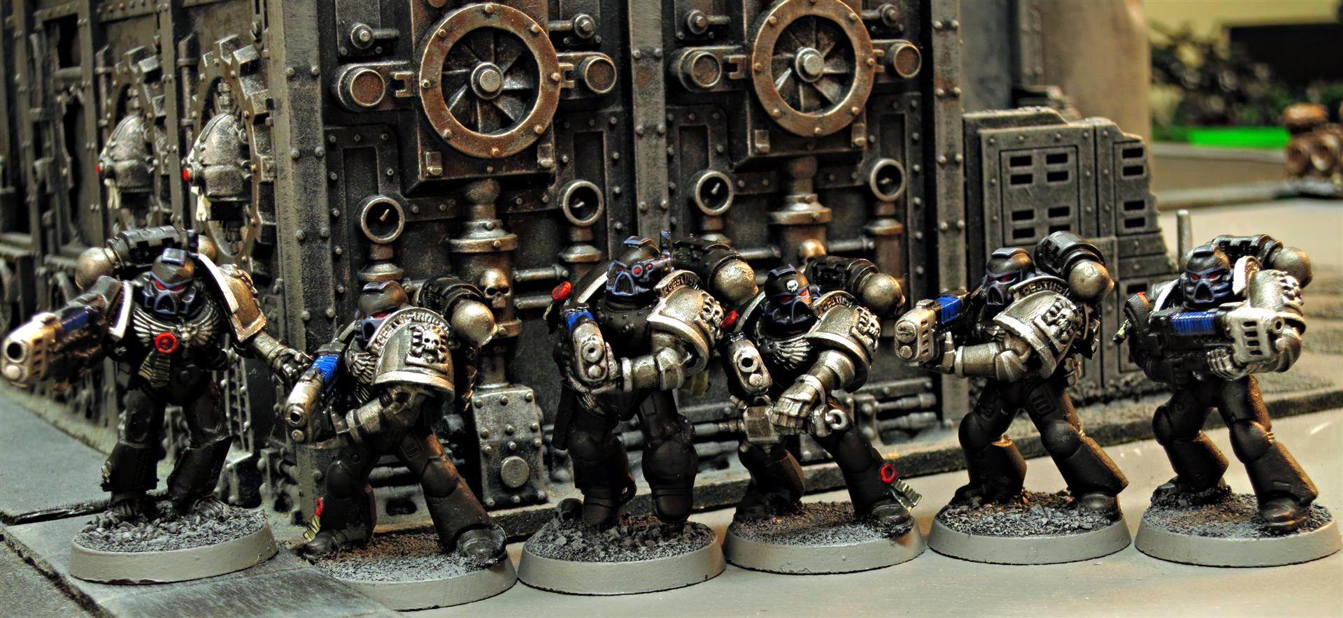 Black Shield, Black Shields, Deathwatch, Deathwatch Blackshields, Deathwatch Kill Team, Inquisition, Ordos Xenos, Plasma, Plasmaguns, Space Marines