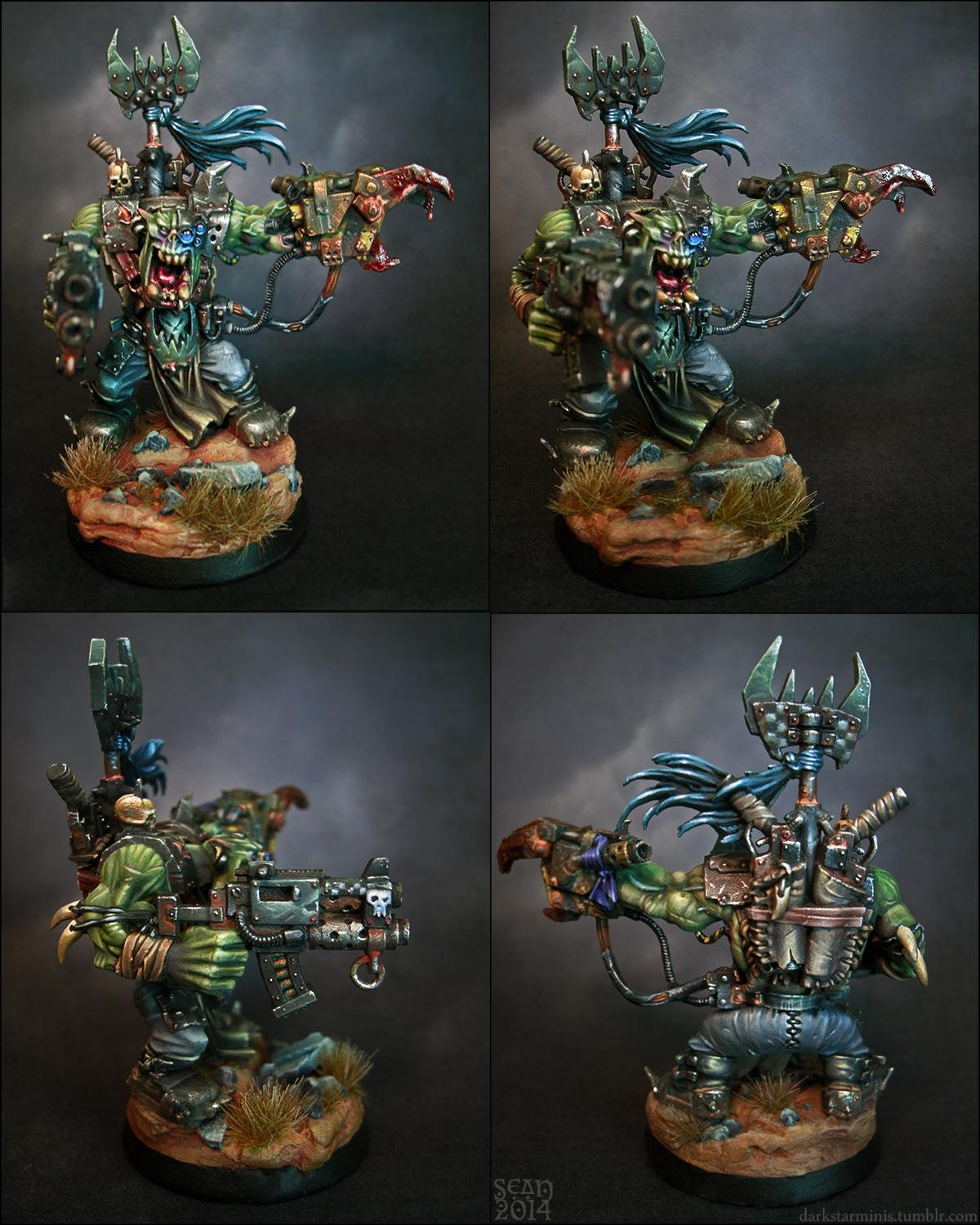 Assault On Black Reach, Darkstarminis, Orks, Warboss