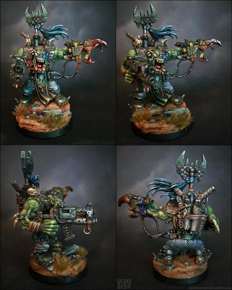 Assault On Black Reach, Darkstarminis, Orks, Warboss