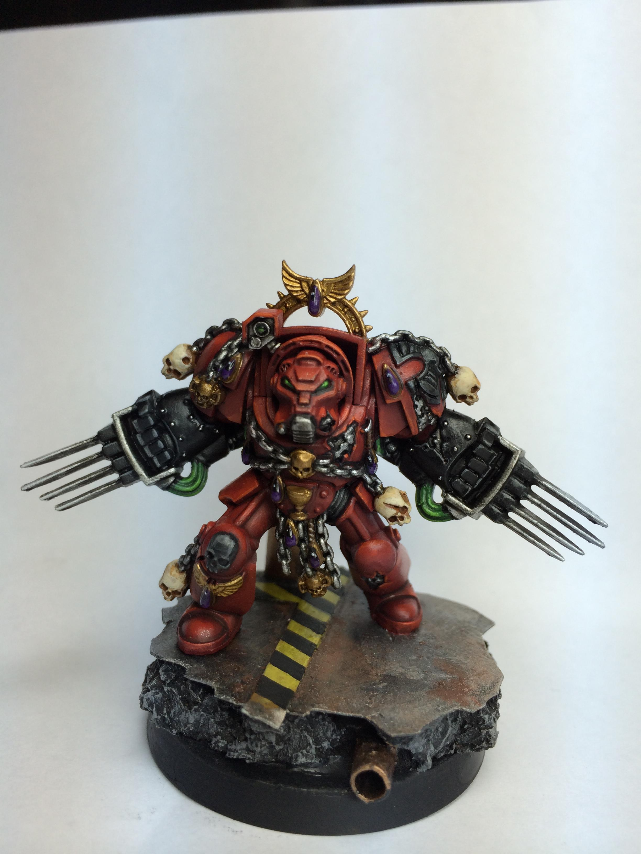 Blood Angels, Brother Claudio, Red, Space Hulk