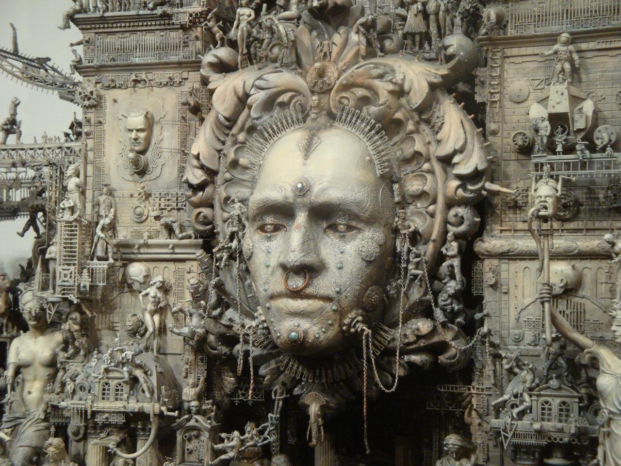 Artwork, Diorama, Kuksi, Temple
