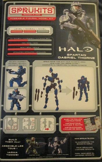 Action Figure, Bandai, Halo, Plastic Model