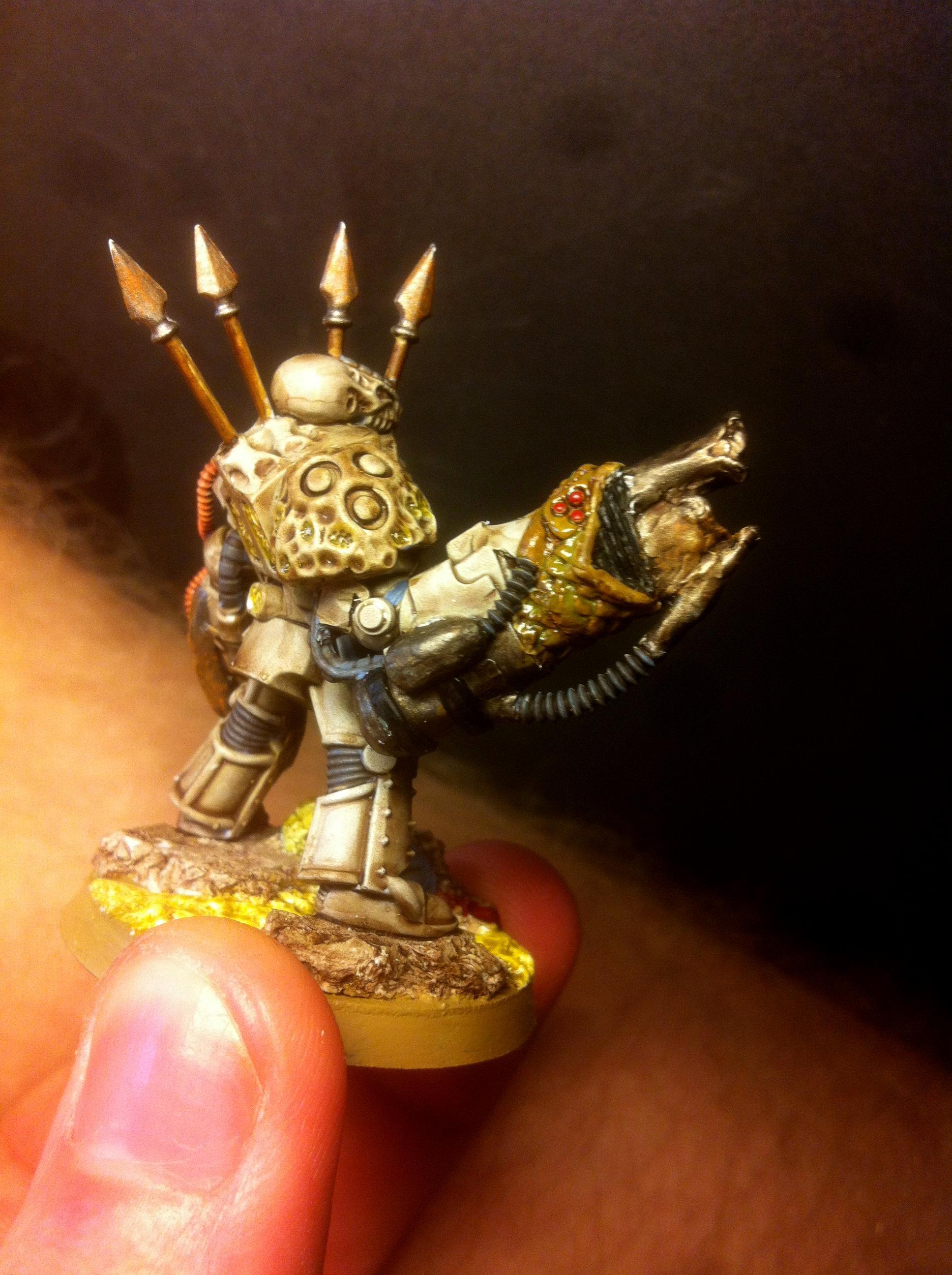 Nurgle, Terminator Armor