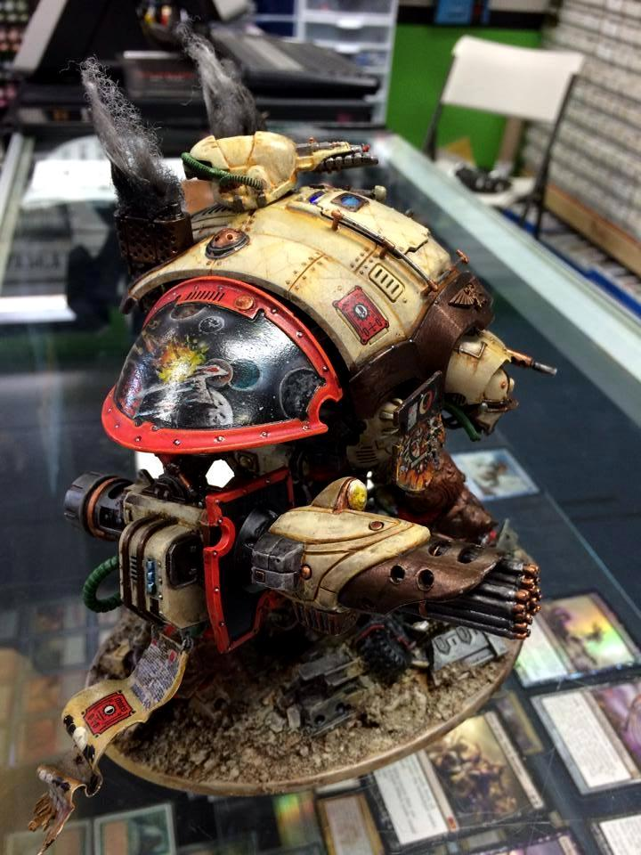 Conversion, Imperial Knight, Space Marines, Warhammer 40,000