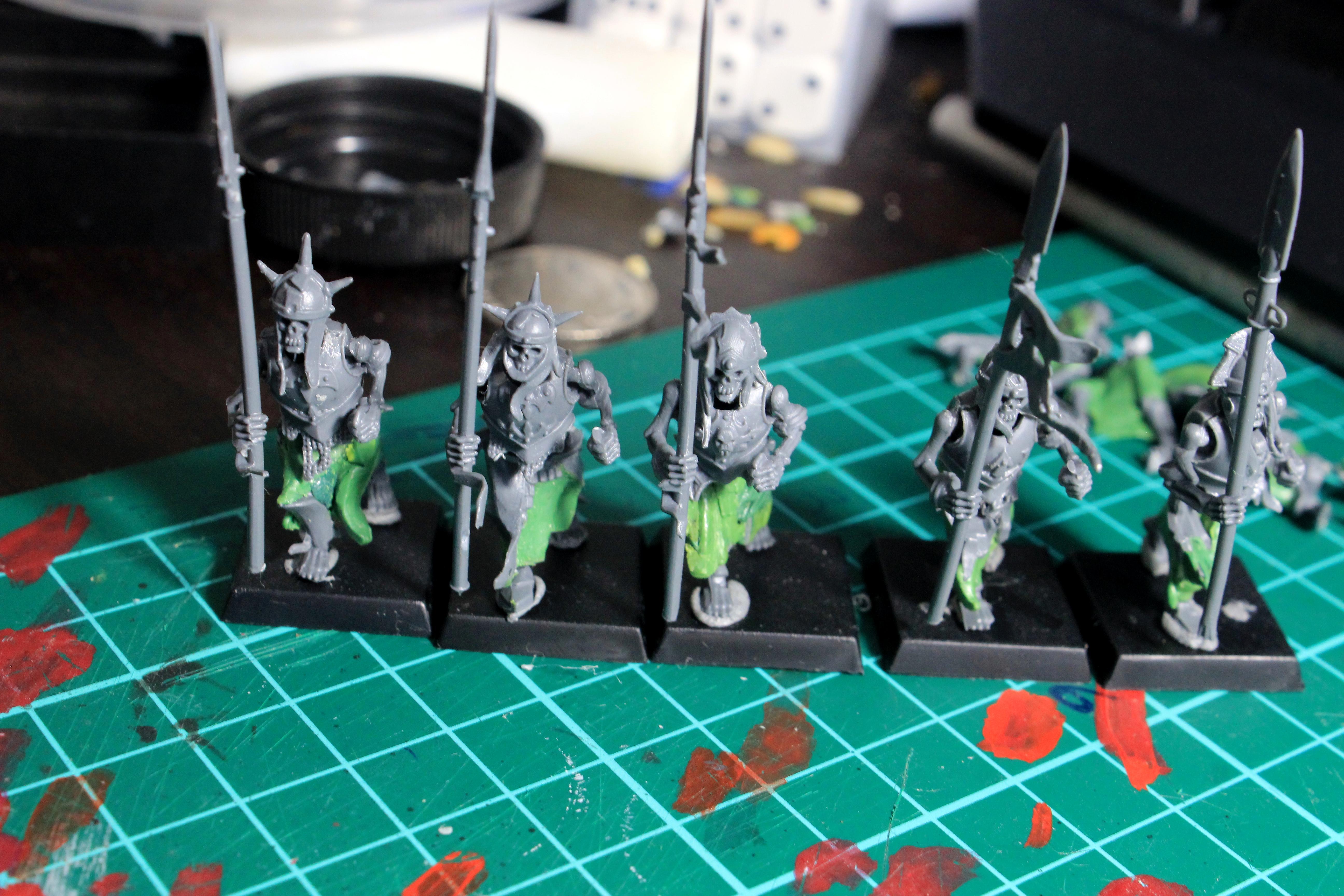 Conversion, Skeletons, Vampire Cunts, Work In Progress