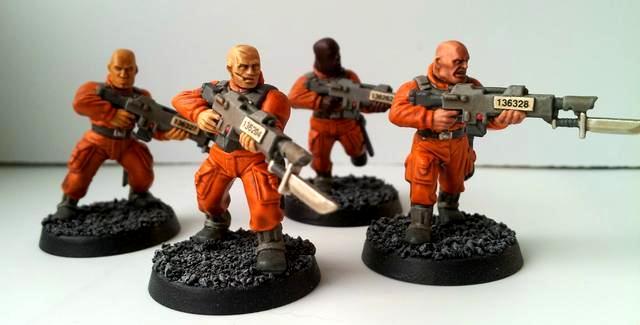 Astra Militarum, Conscripts, Imperial Guard, Lasgun, Penal Legion, Warhammer 40,000