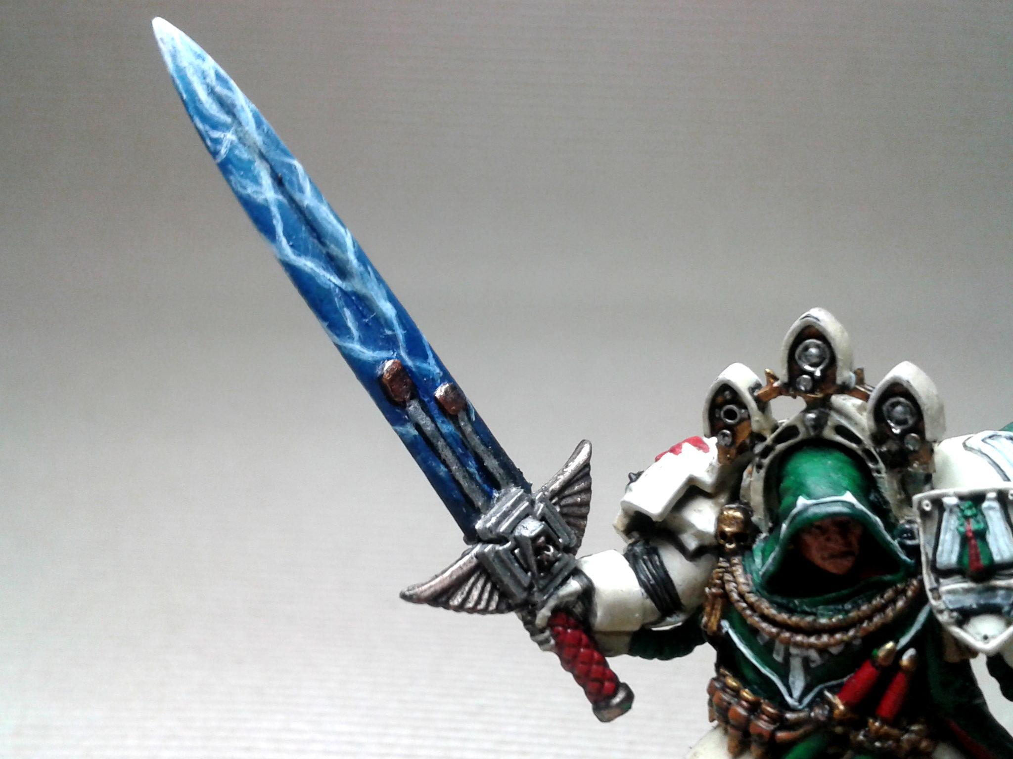 40.000, Convertions, Dark Angels, Deathwing, Merlin, Ravenwing, Space Marines, Warhammer 40,000
