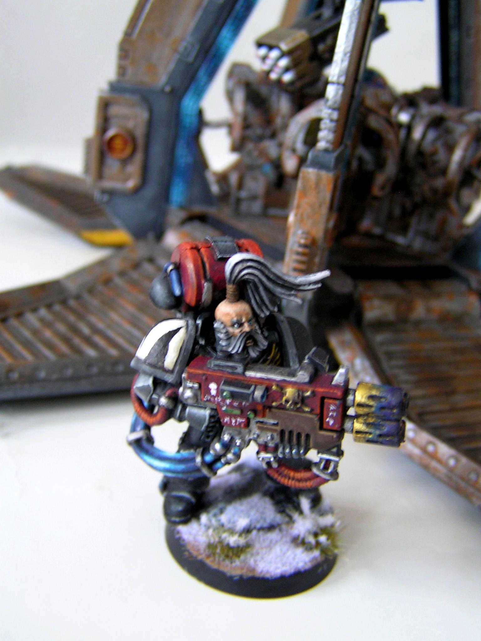 Drop Pod, Space Wolves, Space Wolves Long Fang Multimelter, Wolf Guard, Wolflord
