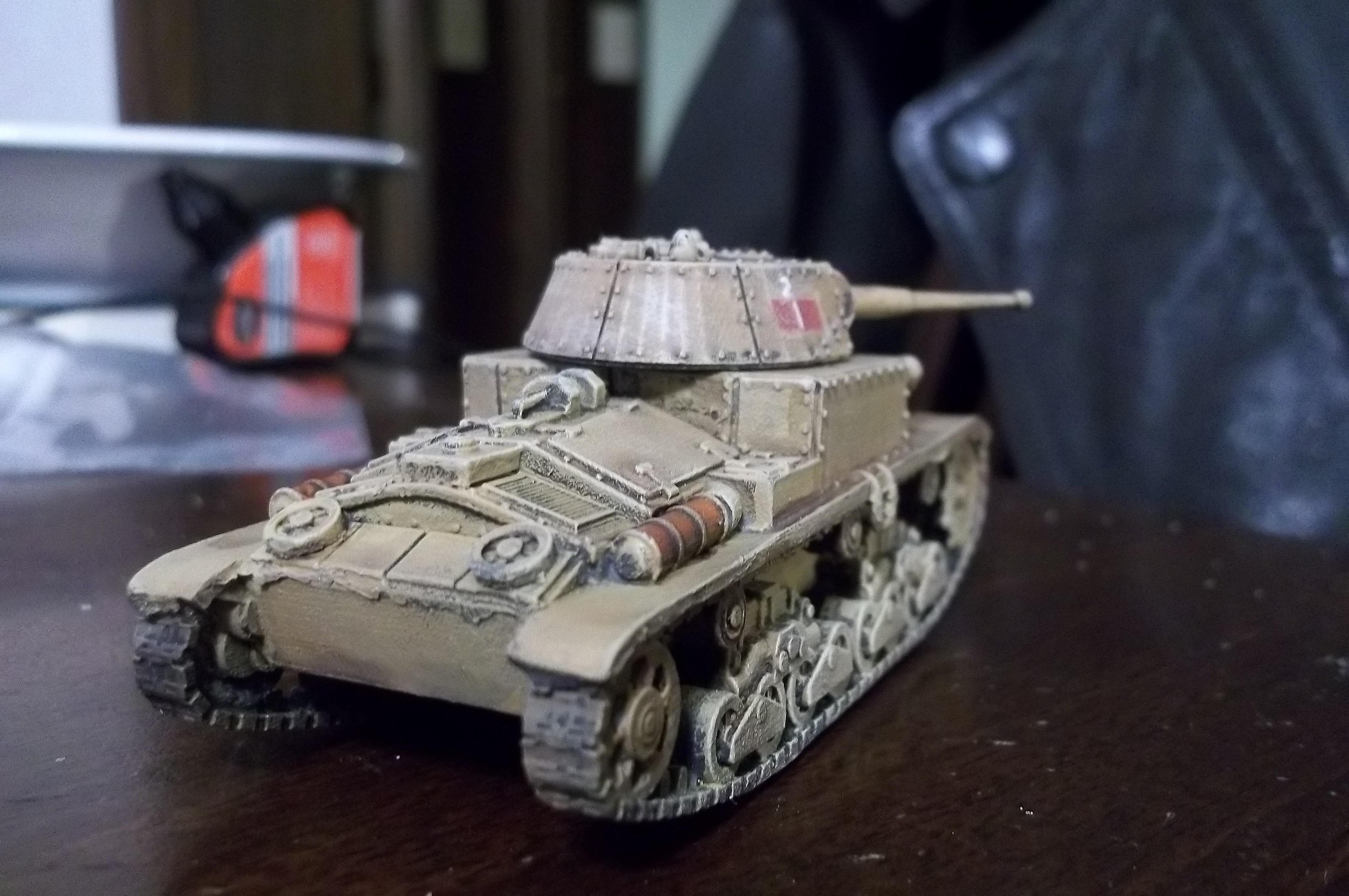 Bolt Action, Italian, Tank, Work In Progress, World War 2