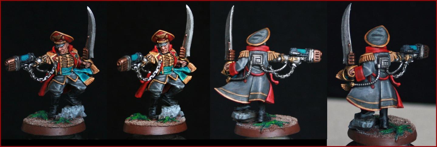 Arkaal, Astra, Commissar, Guard, Imperial, Inquisition, Militarum, Officio, Plasma, Power, Prefectus, Sword
